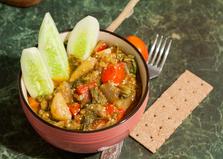 Соте овощное с мангольдом (пошаговый фото рецепт)