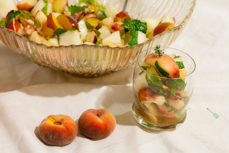 Фруктовый салат с пошаговым фото