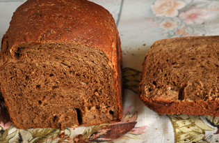 Солодовый хлеб с семечками (пошаговый фото рецепт)