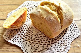 Домашний хлеб без дрожжей на кефире (пошаговый фото рецепт)