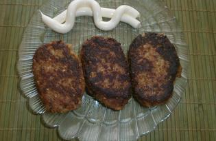 Котлеты из баклажанов с сыром (пошаговый фото рецепт)