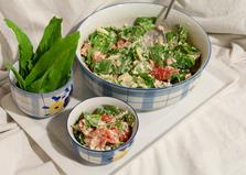 Салат уйсун с творогом и помидорами (пошаговый фото рецепт)