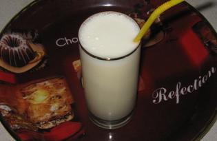 """Молочный коктейль """"Гоголь-моголь"""" (пошаговый фото рецепт)"""