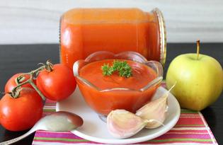 """Соус томатный """"Краснодарский"""" (пошаговый фото рецепт)"""