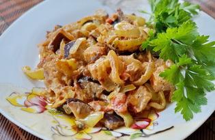 Овощи тушеные в сметане (пошаговый фото рецепт)