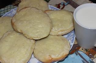 Ватрушки со сметаной (пошаговый фото рецепт)
