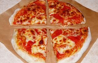 Пицца Маргарита классическая (пошаговый фото рецепт)