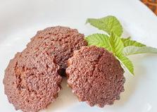 Шоколадные кексы с шоколадом (пошаговый фото рецепт)