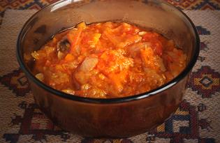 Икра овощная из кабачков и баклажанов «Пятерочка» (пошаговый фото рецепт)