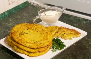 Хашбраун картофельный с петрушкой (пошаговый фото рецепт)