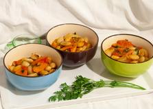 Фасоль белая в томатном соусе (пошаговый фото рецепт)