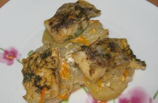 Хек с картофелем (пошаговый фото рецепт)