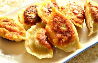 Жареные вареники с капустой (пошаговый фото рецепт)