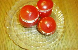 Холодная закуска из помидоров (пошаговый фото рецепт)