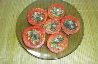 Чесночно - помидорная закуска (пошаговый фото рецепт)