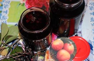Желе из черноплодной рябины (пошаговый фото рецепт)