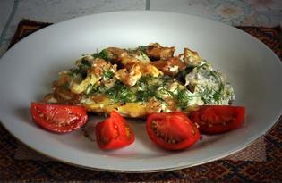Цветная капуста со сливками и яйцом (пошаговый фото рецепт)