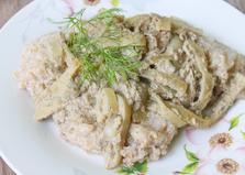 Подлива из печени со сметаной и луком (пошаговый фото рецепт)