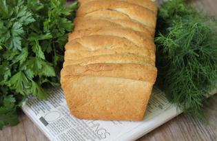 Пышный хлеб со сливочным маслом (пошаговый фото рецепт)