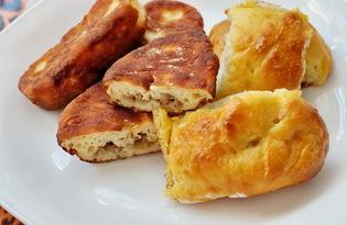 Пирожки с мясной начинкой (пошаговый фото рецепт)