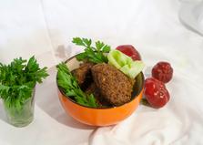 Овощные котлеты из кольраби с баклажаном (пошаговый фото рецепт)
