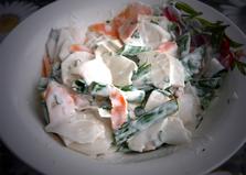 Салат - нарезка из редьки с морковью (пошаговый фото рецепт)