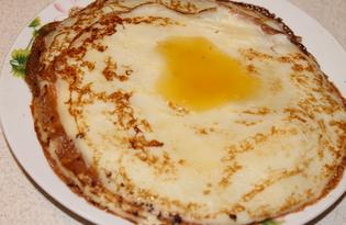 Тонкие блины на молоке и воде с медом (пошаговый фото рецепт)
