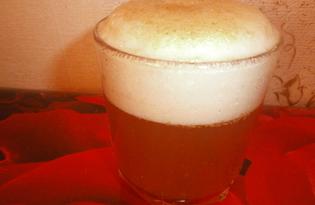 Пиво с яблочным соком (пошаговый фото рецепт)