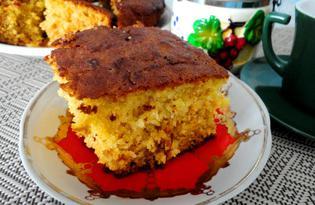 Пирог с морковью и медом (пошаговый фото рецепт)