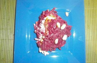 Салат со свеклой и изюмом «Любовник» (пошаговый фото рецепт)