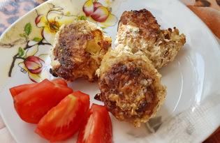Тефтели с рисом и сыром (пошаговый фото рецепт)