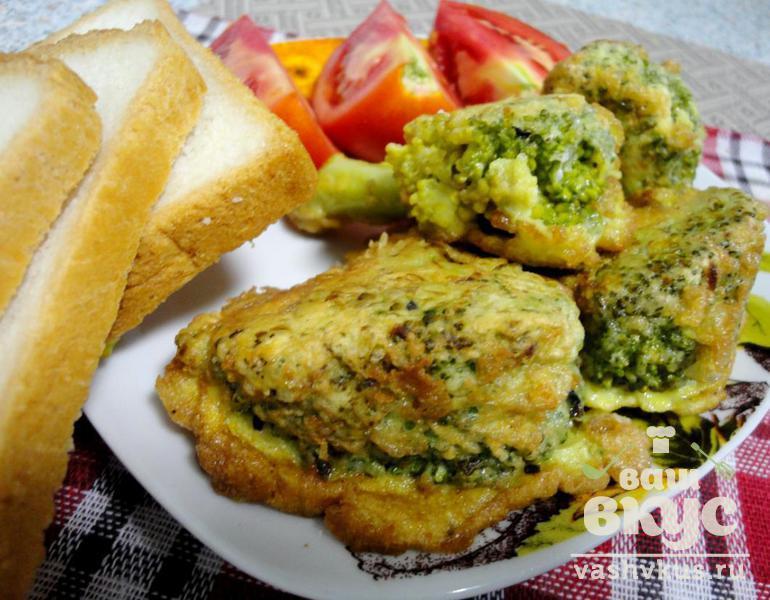брокколи в кляре в духовке рецепт с фото пошаговый