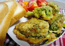 Капуста брокколи в кляре (пошаговый фото рецепт)