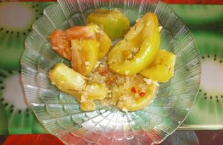 Бурые помидоры по-корейски (пошаговый фото рецепт)