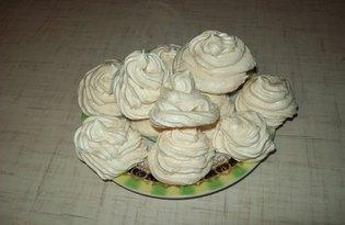 Безе из заварного белкового крема (пошаговый фото рецепт)