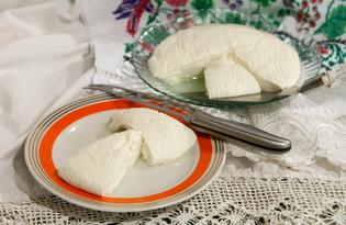 Домашний козий сыр (пошаговый фото рецепт)