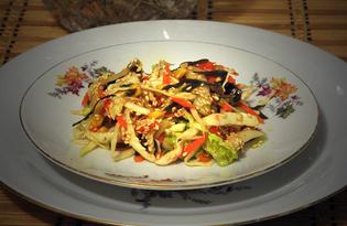 Салат «Три капусты» (пошаговый фото рецепт)