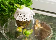 Маринад из зелёных черри и физалиса (пошаговый фото рецепт)