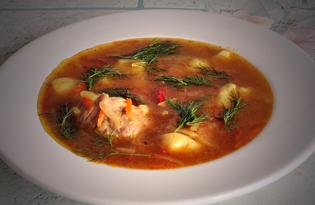 Мясной суп с натертым картофелем (пошаговый фото рецепт)