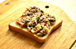 Рыбные бутерброды по-норвежски (пошаговый фото рецепт)