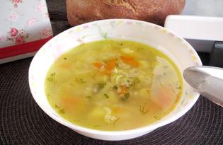 Суп с мясом криля на курином бульоне (пошаговый фото рецепт)