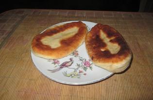 Жареные пирожки с тыквой и мясным фаршем (пошаговый фото рецепт)