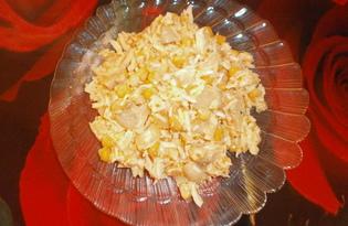 Салат «Бесподобный» с маринованными грибами (пошаговый фото рецепт)