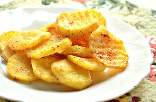 Острый запеченный картофель (пошаговый фото рецепт)