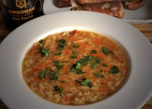 Рисовый рыбный суп с протертым картофелем (пошаговый фото рецепт)
