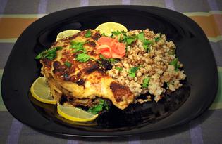 Куриный окорочок в горчичном маринаде (пошаговый фото рецепт)