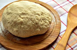Тесто для пельменей и вареников на минеральной воде (пошаговый фото рецепт)
