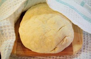 Тесто для вареников на молоке (пошаговый фото рецепт)