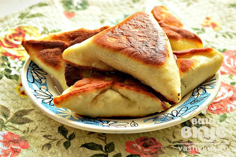 Пирожки на сковороде с фаршем рецепты