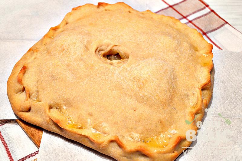 пирог с фаршем в духовке пошаговый рецепт с фото дрожжевое
